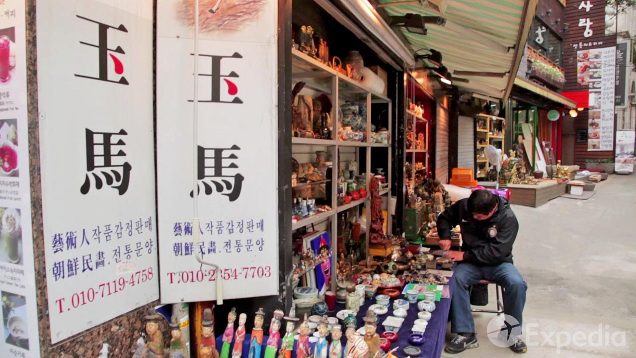 Insadong Antique Street Vacation Travel Guide   Expedia